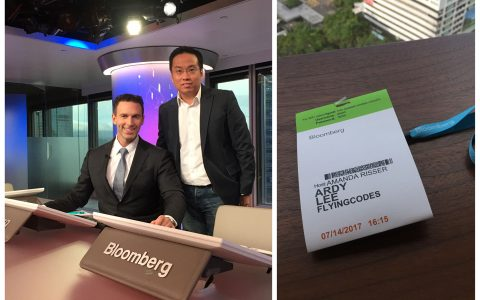 Our Founder and CEO Ardy Lee was invited to Bloomberg TV for an interview.